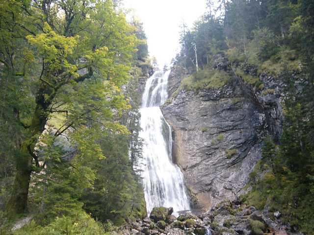 Halblech_Kenzenwasserfall