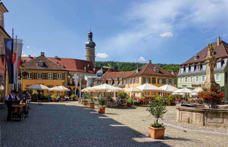 Weikersheim_Marktplatz