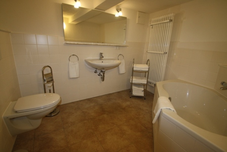 Badezimmer Personalunterkunft Bamberg