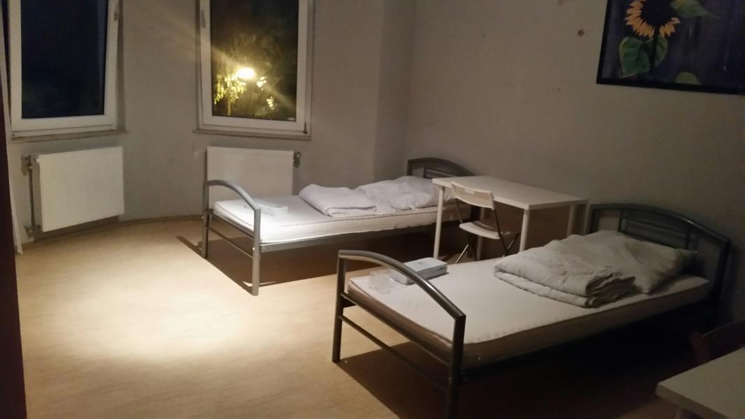 Monteurwohnung Duisburg Schlafzimmer