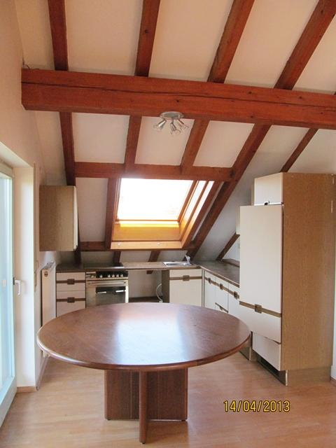 Küche Monteurwohnung