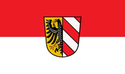 Flagge Nürnberg