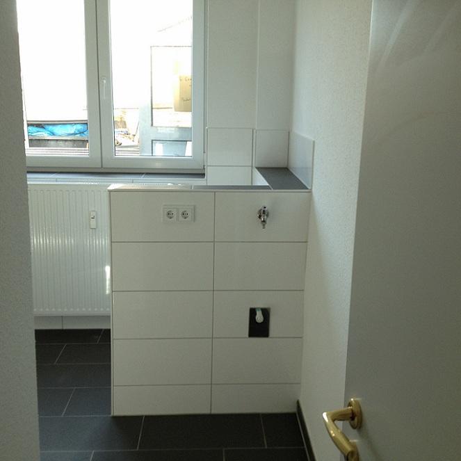 Frechen Badezimmer Monteurwohnung frisch renoviert