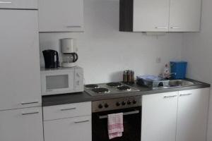 Monteurzimmer Küche Hanau