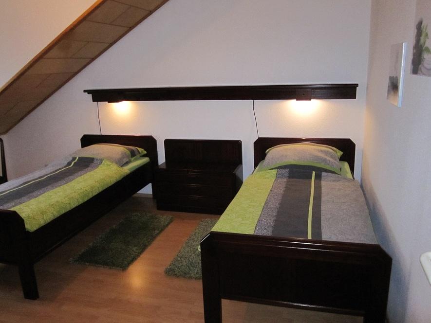Monteurwohnung Betten