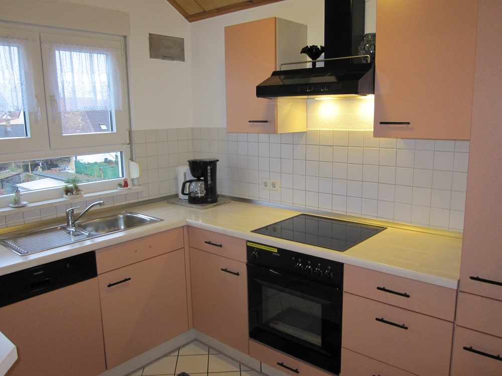 Monteurwohnung Küche