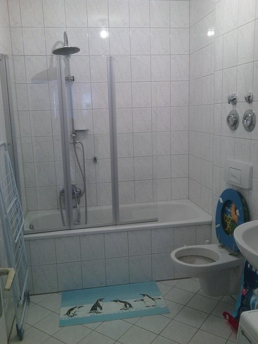 Badezimmer Monteurwohnung Hattingen