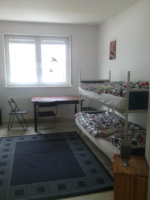 Schlafzimmer Monteurwohnung Hattingen