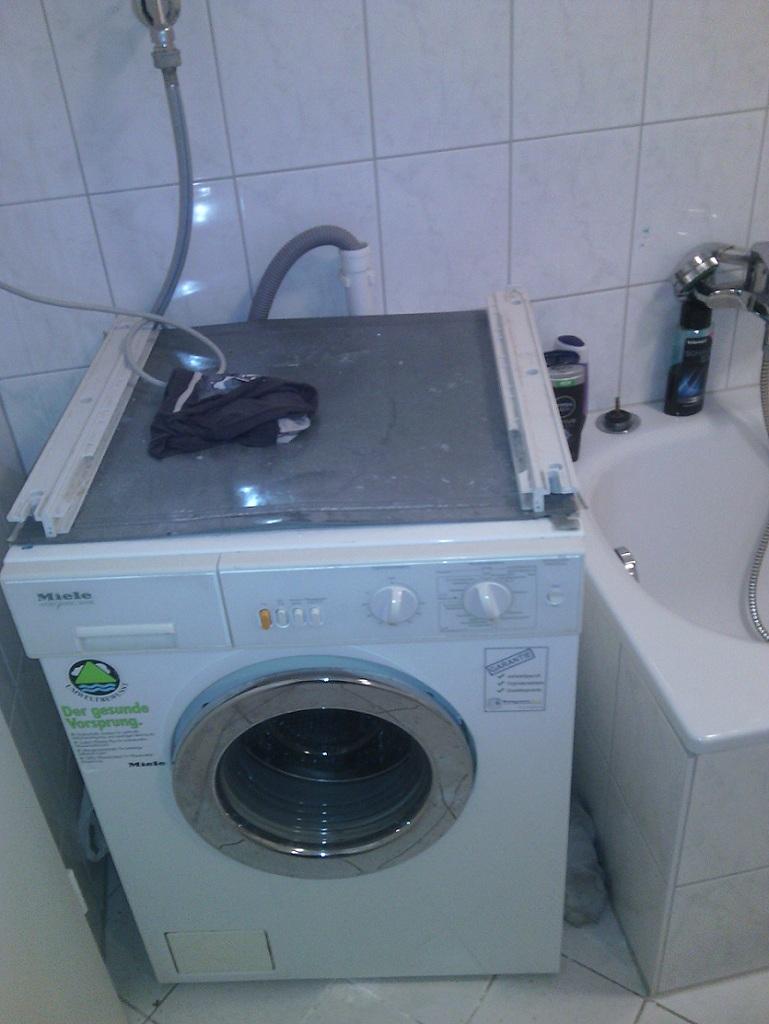 Waschmaschine Monteurzimmer Hattingen