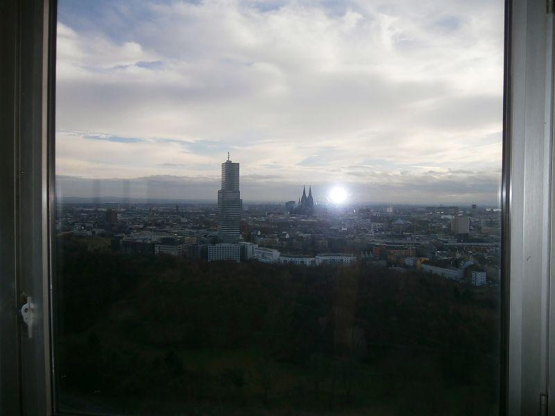 K�ln City Blick �ber die Stadt