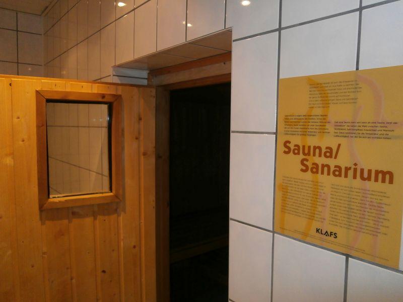 Unsere hauseigene Sauna