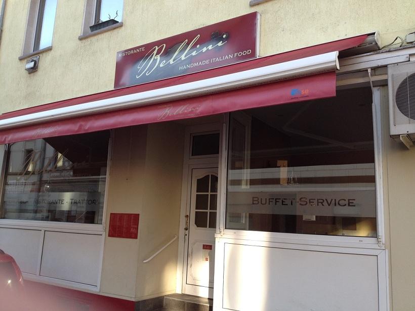 Krefeld Restaurant direkt gegenüber den Monteurwohnungen Blücher Strasse 1A