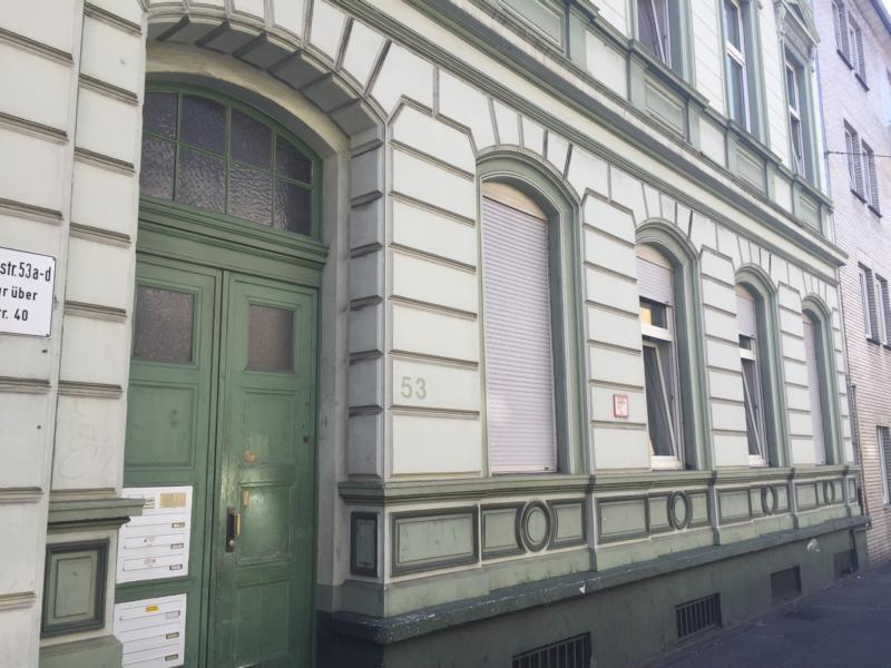 Krefeld Monteurzimmer Treppenaufgang