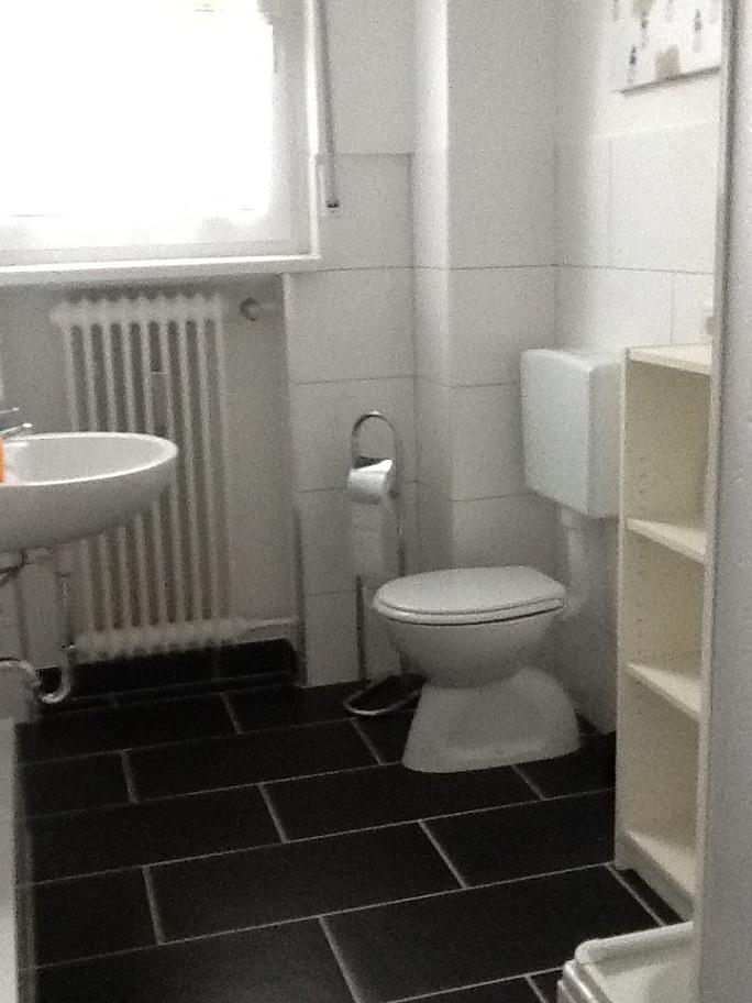 Monteurwohnung Badezimmer