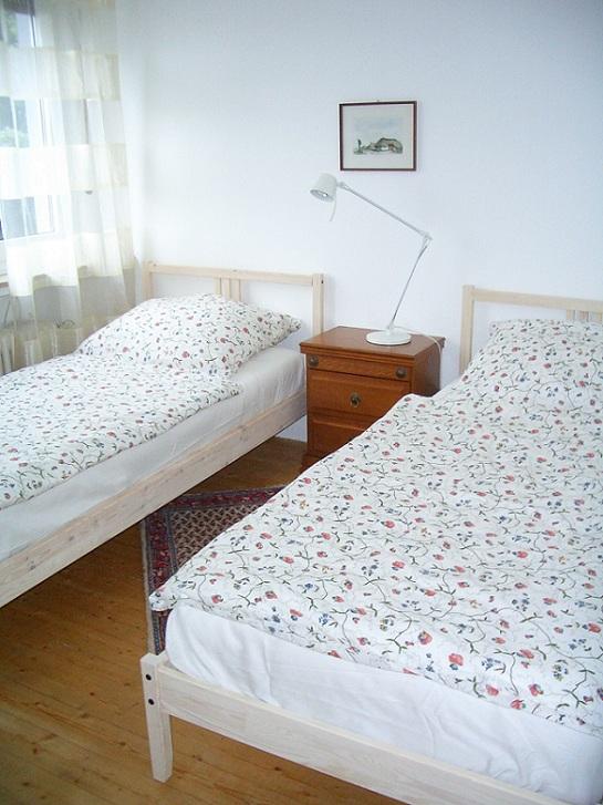 Monteurzimmer Schlafraum