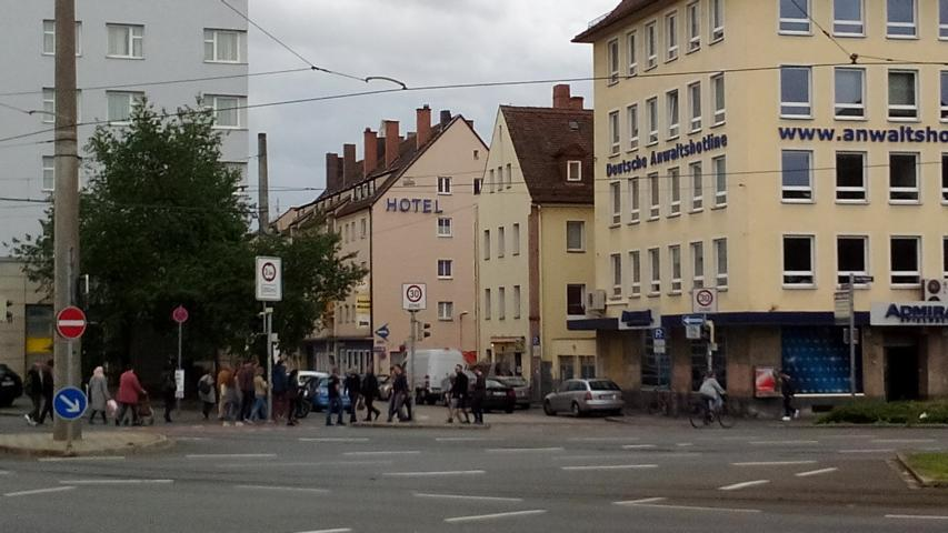 Monteurunterkunft Nürnberg am Plärrer