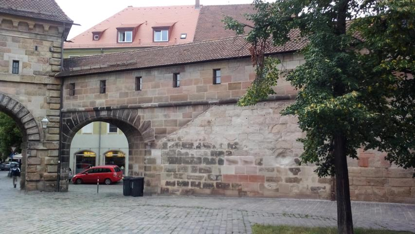 Privatzimmer nahe Spittaler Tor Nürnberg