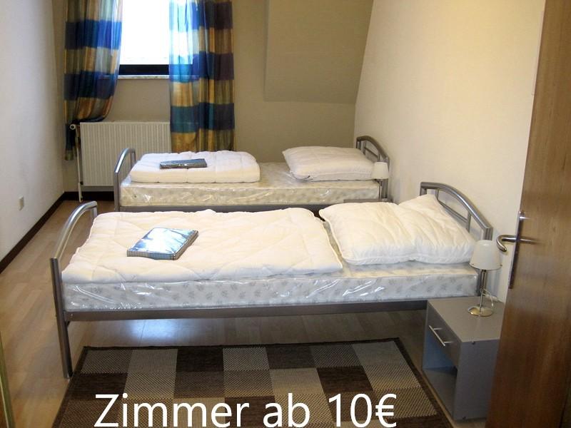 Monteurzimmer Oberhausen neue Mitte