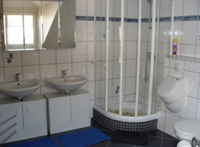 Badezimmer Monteurwohnung Schweinfurt