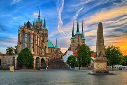 Unterkunft bei Erfurt Dom