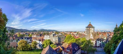 Unterkunft bei Freiburg Panorama