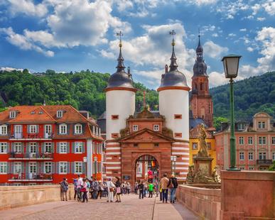 Unterkunft bei Heidelberg Brückentor