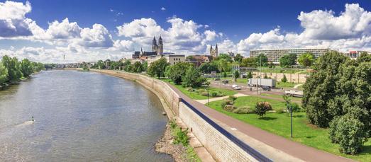 Unterkunft Nähe Elbe in Magdeburg