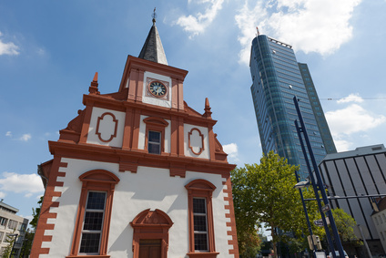 Unterkunft bei Offenbach Kirche und City Tower