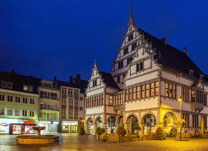 Unterkunft bei Paderborn Rathaus