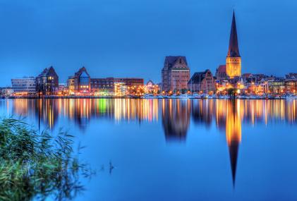Monteurwohnung bei Rostock Hafenpanorama