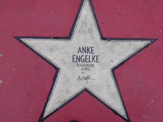 Star of fame Anke Engelke