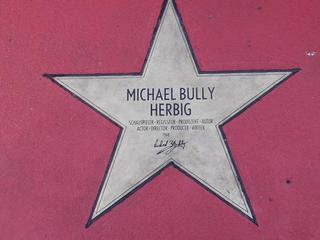 Star of fame Michael Bully Herbig