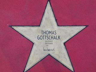 Star of fame Thomas Gottschalk