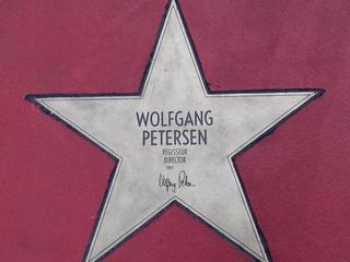 Star of fame Wolfgang Petersen